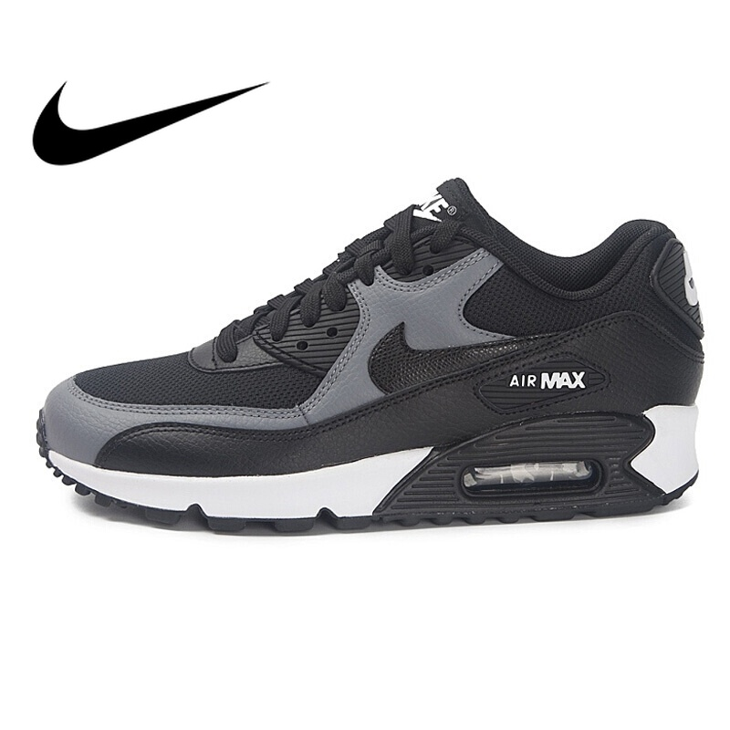 the best attitude 10075 fec07 Original NIKE WMNS AIR MAX 90 Women s Running Shoes Sneakers Breathable  Nike Shoes Women Low Top Cushioning Comfortable 325213