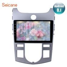 Seicane 1080 P Android 8.1 di Navigazione GPS Per Auto Radio Stereo per 2008-2011 2012 KIA Forte (AT) con Specchio Collegamento Bluetooth