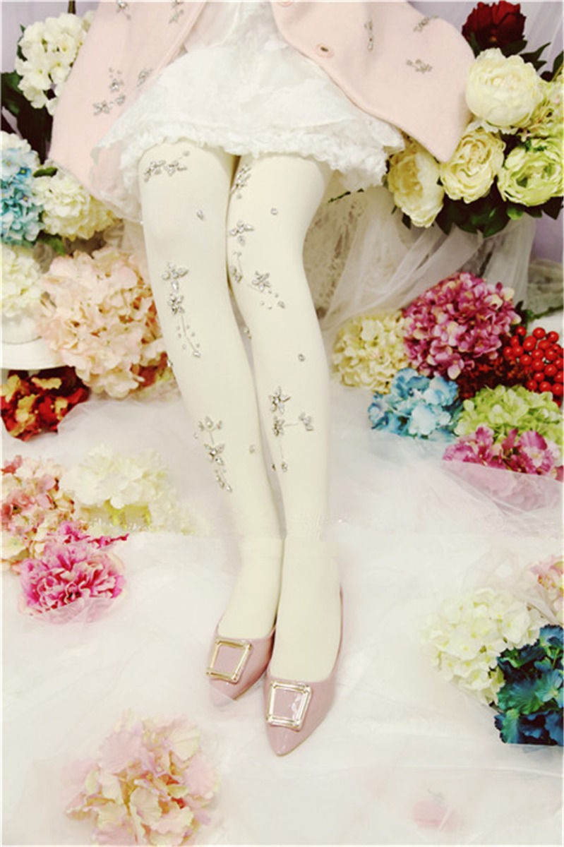 Thicken Crystal Tights