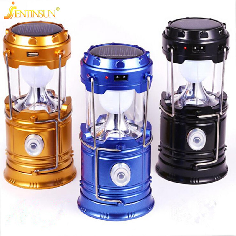 portable solar camping light led indoor outdoor lighting usb charging lantern solar panel power led lamp