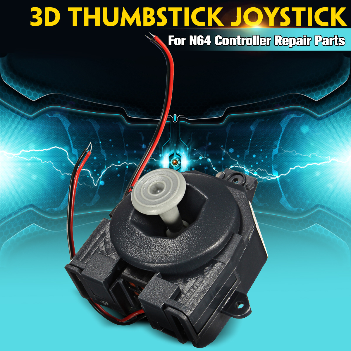 Stick Joystick-Controller Replacement Repair-Parts Nintendo-For-N64 Analog Wired 3D