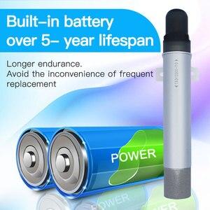 Image 3 - Sensor sem fio do o2 da baixa potência com 0 25% transmissor sem fio do registador da umidade da temperatura de lora da longa distância