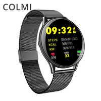 COLMI VK6 ip68 À Prova D' Água Heart Rate Monitor Relógio Inteligente Homens Atividade BRIM Das Mulheres Dos Homens de Fitness Rastreador Smartwatch Android ou IOS