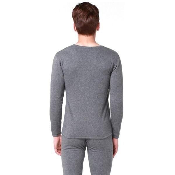 5da4ac09f611 Winter Men 2Pcs Cotton Thermal Underwear Set Warm Thicken Long Johns ...