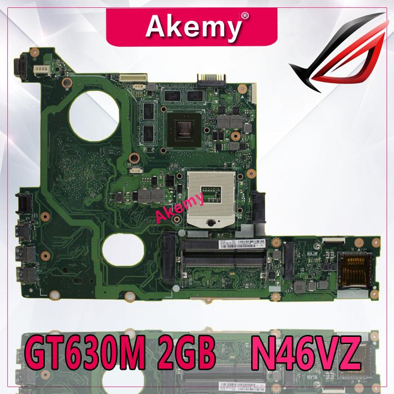 Akemy N46VM GT630M Onboard 2 gb Motherboard Para ASUS N46V N46VM N46VZ N46VB N46VJ Laptop Mainboard 100% Testado Rev 2.1Akemy N46VM GT630M Onboard 2 gb Motherboard Para ASUS N46V N46VM N46VZ N46VB N46VJ Laptop Mainboard 100% Testado Rev 2.1
