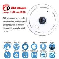 HD FishEye IP Camera 960P 360 Degree Full View Mini CCTV Camera 1.3MP Network Home Security WiFi Camera Panoramic IR 1280*960