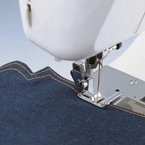 Image 3 - Multifunktions Haushalt Nähmaschine Nähfuß Maßband mit einem Lineal Stich Guide Nähen Fuß Snap auf Metall AA7016 2