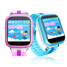 Q750 Kids GPS Tracking Watch Waterproof Smartwatch SOS Call Location Finder Safety Monitor Band Color Screen Activity Tracker