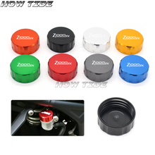 CNC Aluminum Motorcycle Rear Brake Reservoir Cover Cap For Kawasaki Z1000SX Z1000 SX 2007-2017 2011 2012 2013 2014 2015 2016 38mm motorcycle accessories rear brake reservoir cap for kawasaki z1000 2007 2013 z750 2007 2014 zx6r 07 08