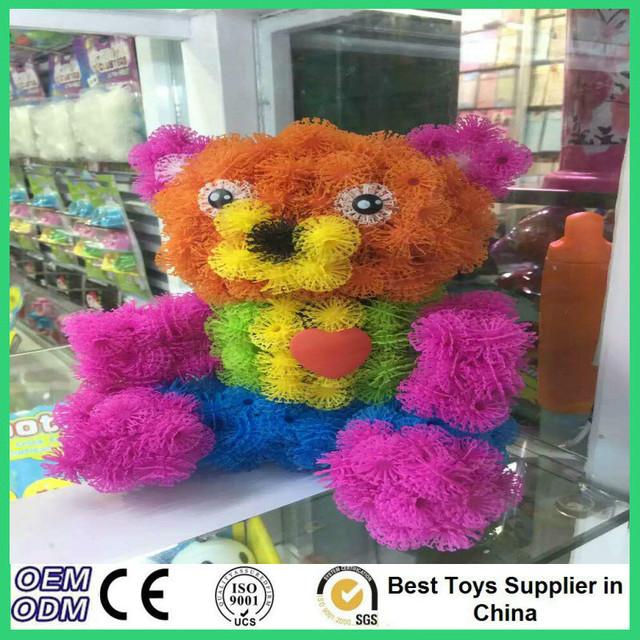 2016 Magic Puffer Ball 400 Pieces Accessories Build Mega Pack Animals DIY Assembling Spot Best Block Toy Sets For Children