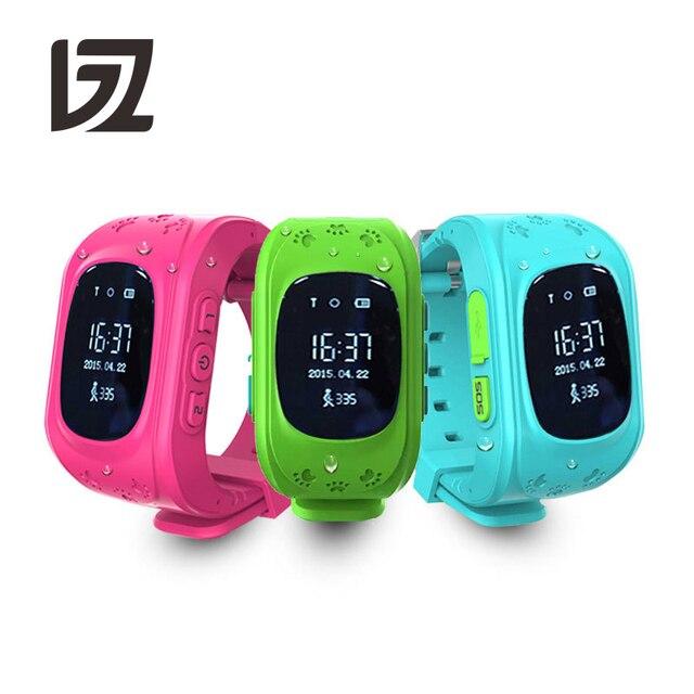 BINZI Smart Watch Children GPS Tracking Wrist Watch Protect Kid's Eyesight Dial