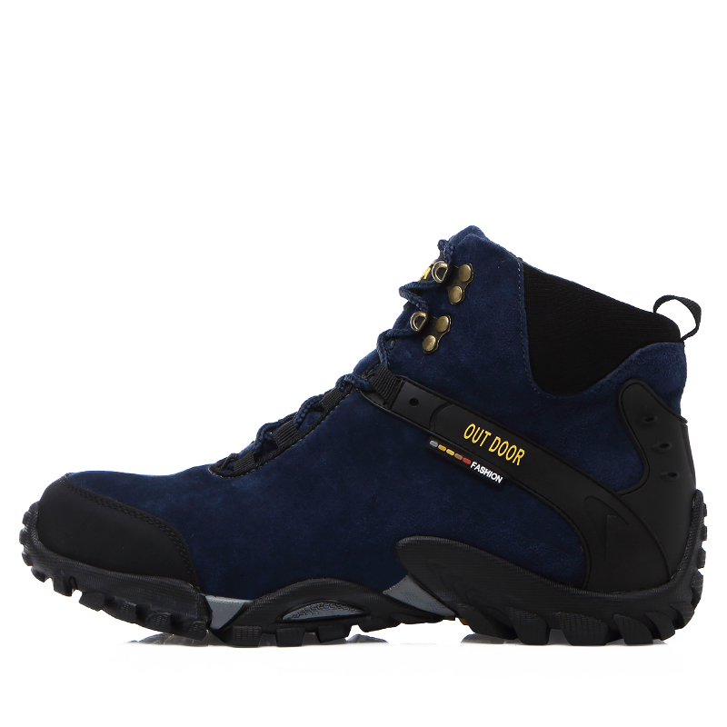 New Hot Sale Waterproof Hiking Shoes High Top Climbing ...