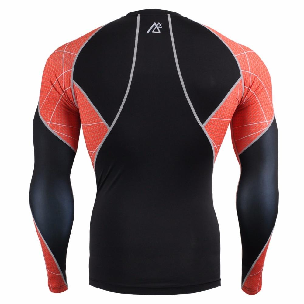 Mens Sport Suit Compression Running Suit Sportsman Wear Sport Suit Training MMA Workout Fitness Yoga Clothing Set C3L/P2L-B70R