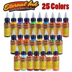 Tatuaggio Eternal Tattoo Ink Set 25 Colori Set 1 oz Articolo