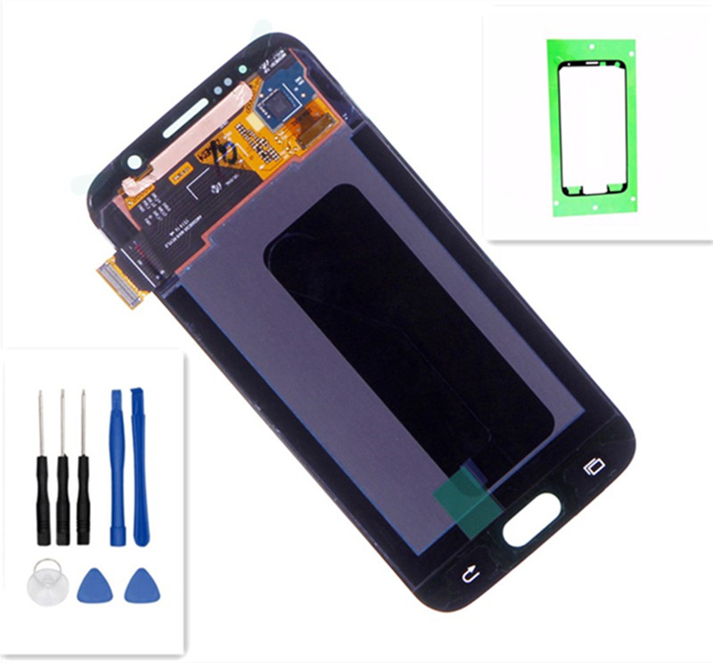 For Samsung galaxy S6 G920 LCD Display Touch Screen Digitizer G920i G920P G920f G920V G920A G920W Mobile Phone LCDs Replacement