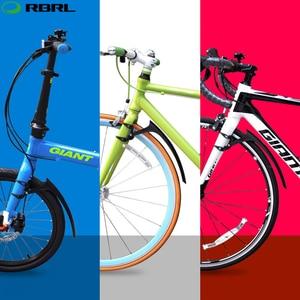 Image 5 - RBRL 2 PCS Road Bike Set Mudguard For Bicycle 700c Bike Wings Mud Guard Front/Rear Fenders RL 770