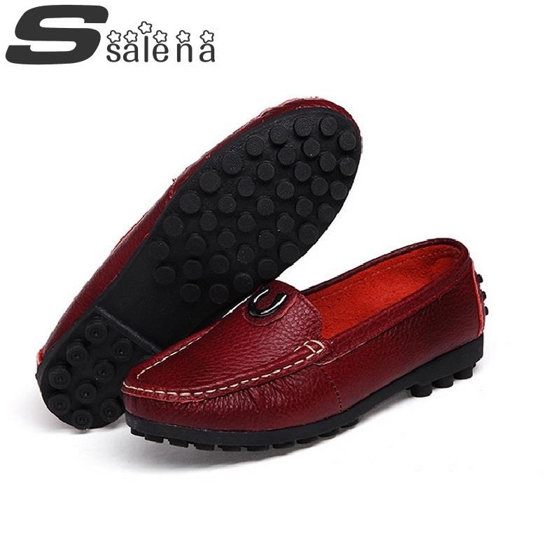 Suave 40 Picture Madre De Zapatos Otoño Cuero Pisos Conducción Planos  Tamaño As Mujer 35 Primavera ... 0649dd400ec