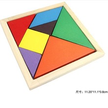 7PCS Color Originality Early Wooden Toy Baby Jigsaw Puzzle Blocks Souptoys Early Childhood Birthday Gifts Christmas For Children