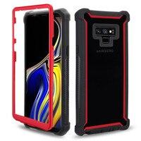 Wytrzymała zbroja ochronna PC + obudowa tpu do Samsung Galaxy Note 10 Pro 8 9 S8 S9 S10 Plus S10E odporna na wstrząsy pyłoszczelna solidna osłona