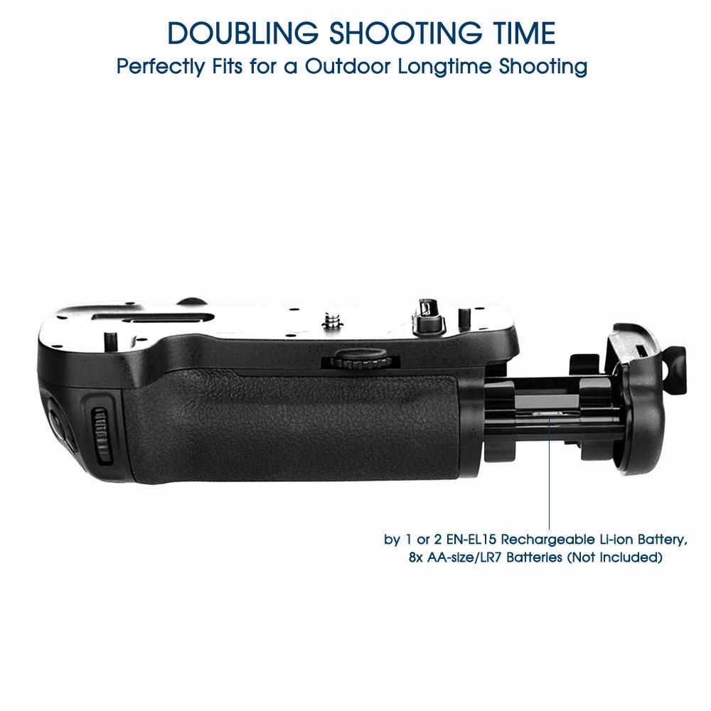 Travor Professionellt Batterihandtag för Nikon D500 DSLR-kamera som - Kamera och foto - Foto 4