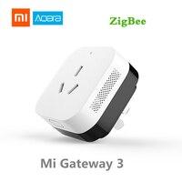 Xiaomi aqara ar condicionado companheiro gateway3 sensor de temperatura controle iluminação função detecção kits casa inteligente|Controle remoto inteligente| |  -