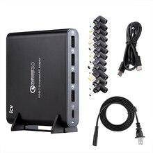ICV QC3.0 téléphone universel tablette chargeur pour ordinateur portable avec type c type c USB C chargeur de USB c pour ordinateur portable Spectre 13 Yoga 5 Xiaomi HP