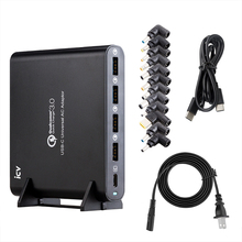 ICV QC3.0 אוניברסלי טלפון tablet מחשב נייד מטען עם סוג c סוג c USB C USB C מטען עבור מחברת ספקטר 13 יוגה 5 Xiaomi HP