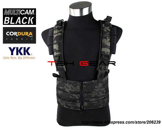 TMC Light Sniper Chest Rack Multicam Black Airsoft Military Tactical Gear+Free shipping(SKU12050842) emerson gear sniper waist pack genuine multicam 500d military tactical waist pack free shipping sku12050410