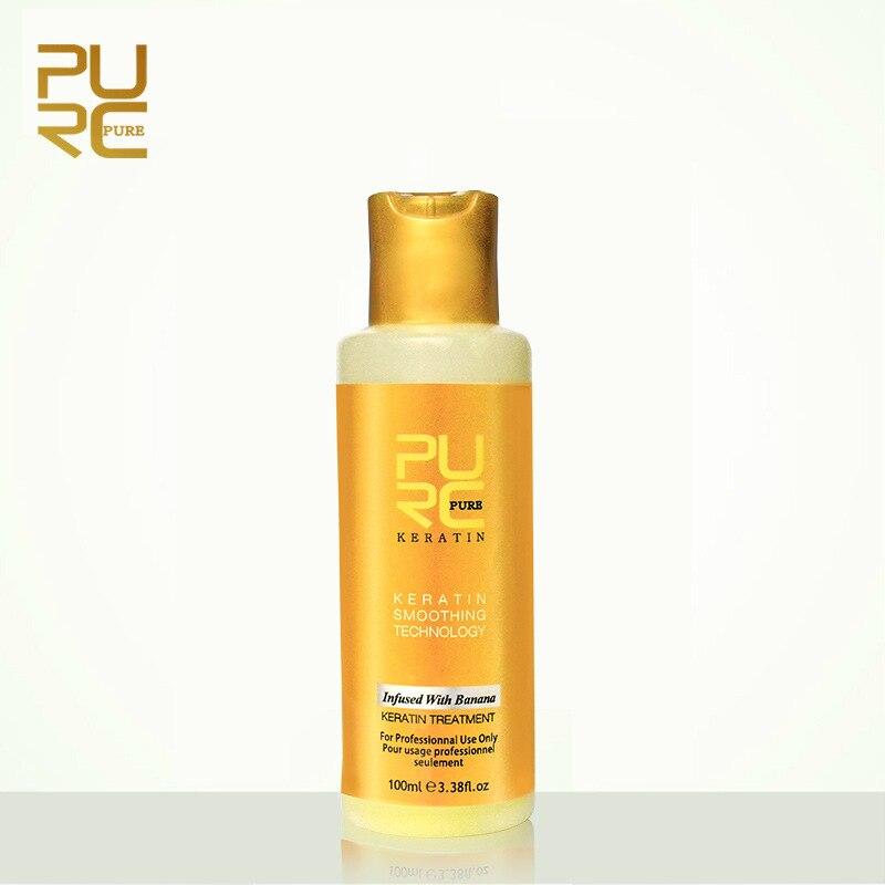 PURC-8-Banana-flavor-Brazilian-Keratin-Treatment-Straightening-Hair-Repair-Damaged-Frizzy-Hair-Make-Hair-Smooth