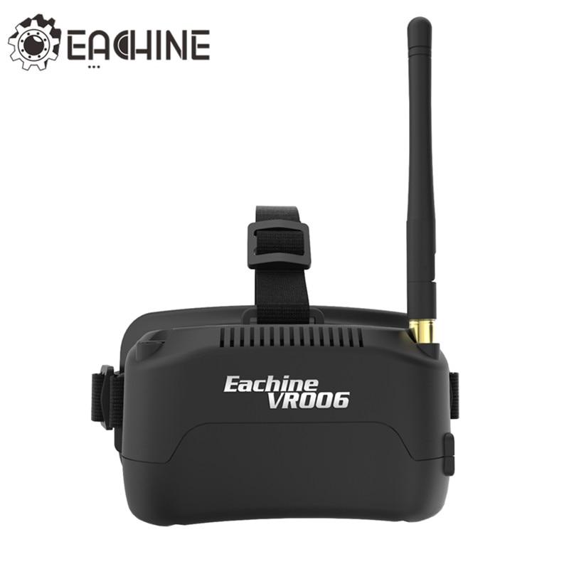 Eachine E013 VR006 VR-006 One-antenna 3 Inch 5.8G 40CH Mini FPV Goggles Build in 3.7V 500mAh Battery high quality original eachine e013 micro mini quadcopter 5 8g 4 0ch 1000tvl camera vr006 vr 0 06 3 inch goggles rc drone models