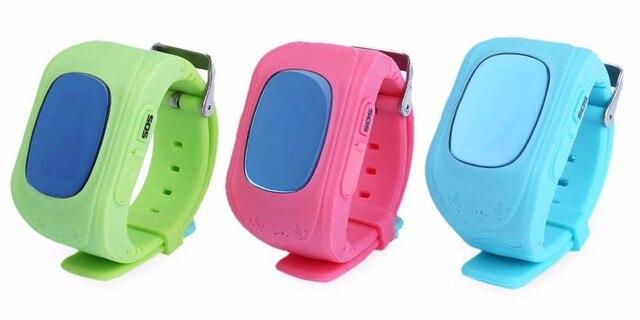 Smart watch Kid Safe Gps-часы SOS Вызова Расположение Finder Locator Tracker Anti Потерянный Монитор Младенца Подарок Q50