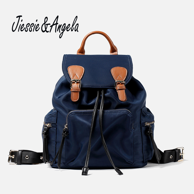 Jiessie & Angela Hot Sale Mochila Feminina Women's Backpack Vintage Travel Bag School Backpack Teenage Girls Shoulder Bags hot sale 2017 new arrival bag mochila escolar backpack anime kawaii backpack mochila for teenage girls korean school bags