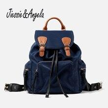 Jiessie & Angela Лидер продаж Mochila Feminina женская рюкзак старинные дорожная сумка рюкзак школы девочки подростка через плечо Сумки