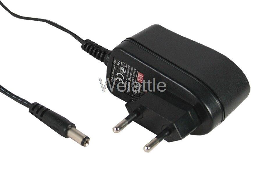 MEAN WELL original GS06E-3P1J 12V 0.5A meanwell GS06E 12V 6W AC-DC Industrial Adaptor источник света для авто oem 2 30 12v 6w
