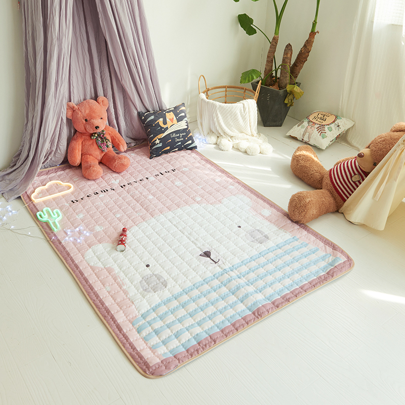 Infant Shining Baby Play Mat Puzzle Game Pad Picnic Mat Children's Climbing Mat Outdoor Mat Children Carpet Blanket 140*200cm bears floormat cartoon playmat boys girls game carpet animals blanket baby child 2 5cm rug skidproof yoga 150 200cm picnic mat