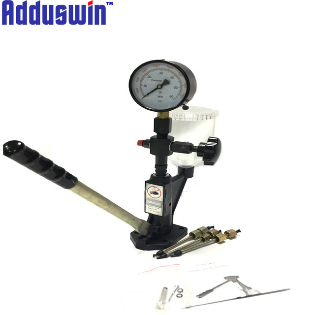 Adduswin diesel Injector S60H nozzle validator fuel nozzle Injector tester kits,work with common rail injector tester