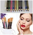 NEW ARRIVEL 1 SET 12 Colors Cosmetics Makeup Pen Waterproof Eyeshadow Eye Liner Lip Eyeliner Pencil 12 PCS