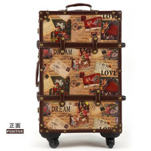 2016 new EVISPO 22 24 Inches Luggage Travel Suitcase Luggage Travel Bag with Trolley Rolling luggage