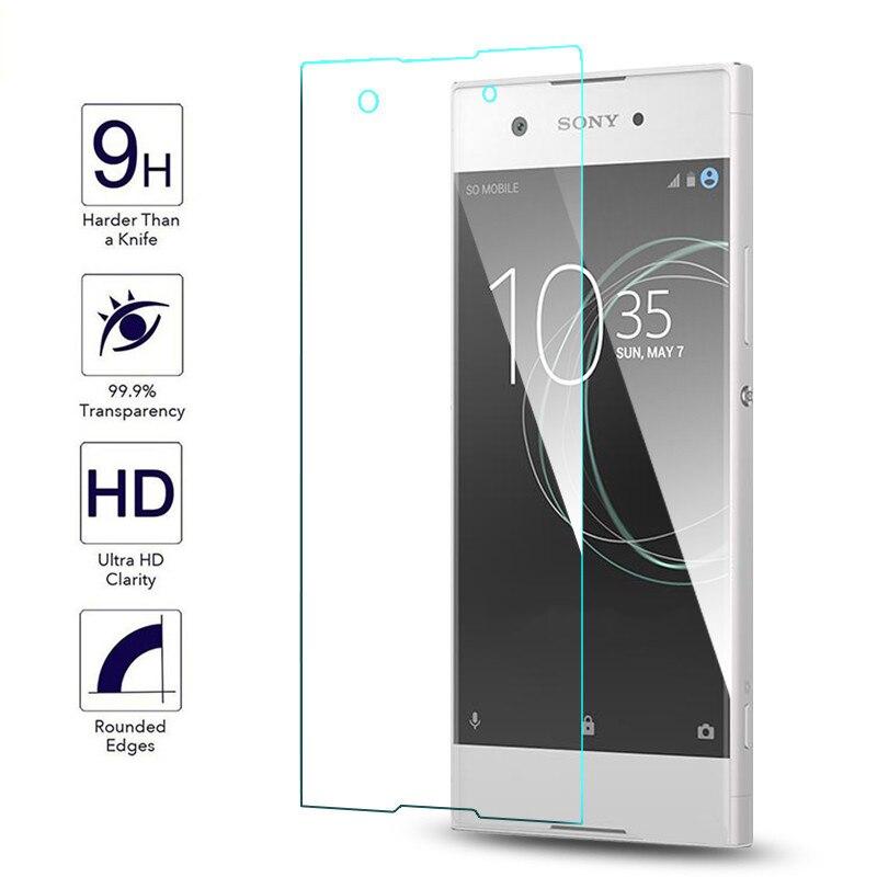 2PCS For Tempered Glass Sony Xperia XA1 Screen Protector For Sony Xperia XA1 Glass For Sony Xperia XA1 Glass G3112 G3116 Film ]