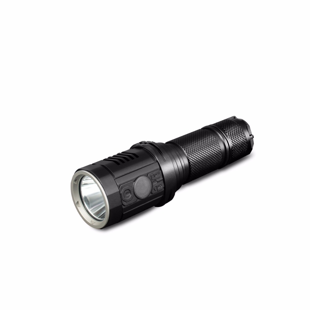 ФОТО DN11 exquisite searchlight 18650 zoom torch waterproof CREE XPL HI 1000LM led camping hunting light by 18650 Battery
