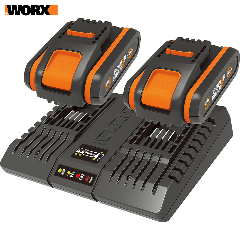 Rechargeable Batteries WORX WA3610 accumulator for power tool acb lithium ion charging device