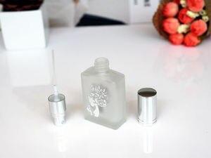 Image 5 - 1 шт. 15 мл матовые стеклянные парфюмерные бутылочки пустые распылительные распылители многоразовый флакон ароматизатор чехол с размером путешествия портативный