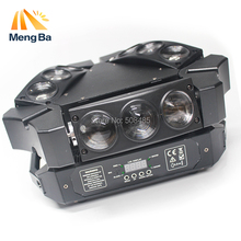 цена на New CREE MINI LED 9x10W Led Spider Light RGBW 16/48CH DMX Stage Lights Dj Led Spider Beam Light  Moving Head
