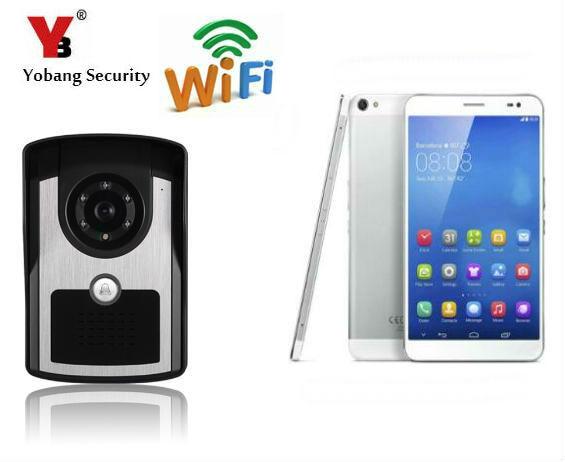 Yobang Security Wifi Doorbell Wireless Intercom Video Door Phone WIFI Visual Wireless Doorbell IP Intercom Wifi Video Intercom