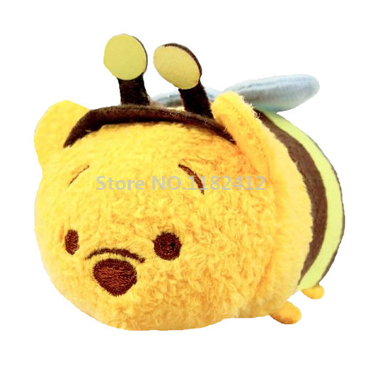 Tsum Tsum Mini Plush Bumble Bee Bear Stuffed Animals Cute Smartphone
