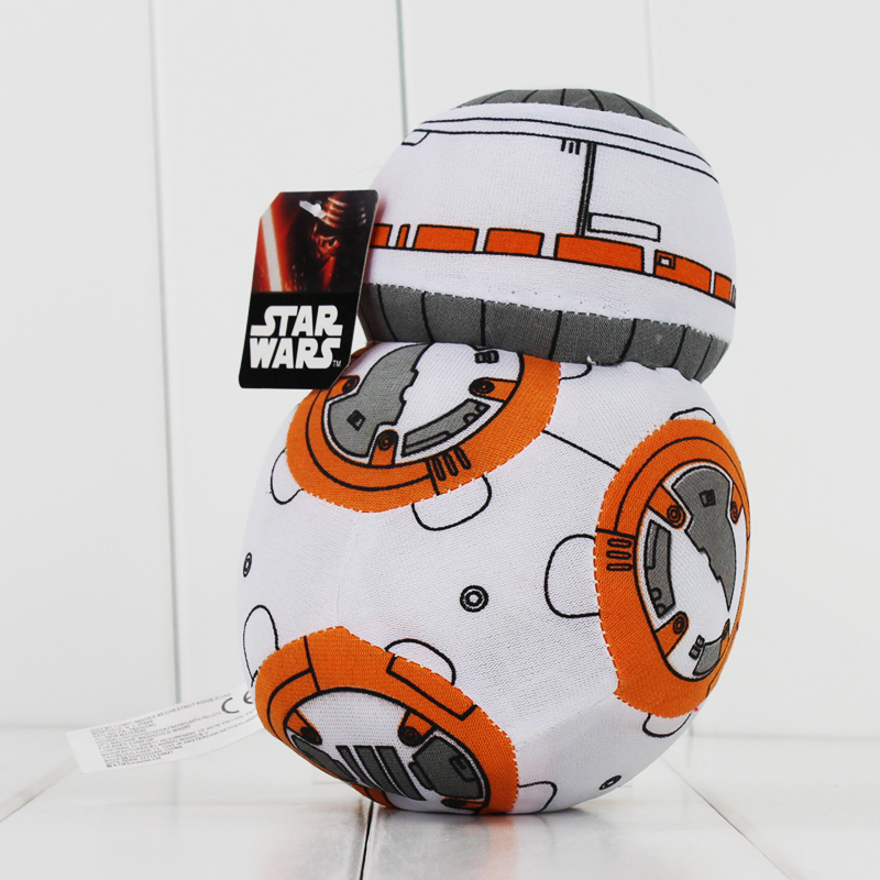 bea040e6a3e Star Wars 7 The Force Awakens BB8 BB 8 Droid Robot Plush Toys Movie Soft  Stuffed Dolls For Collections 17cm-in Movies   TV from Toys   Hobbies on ...