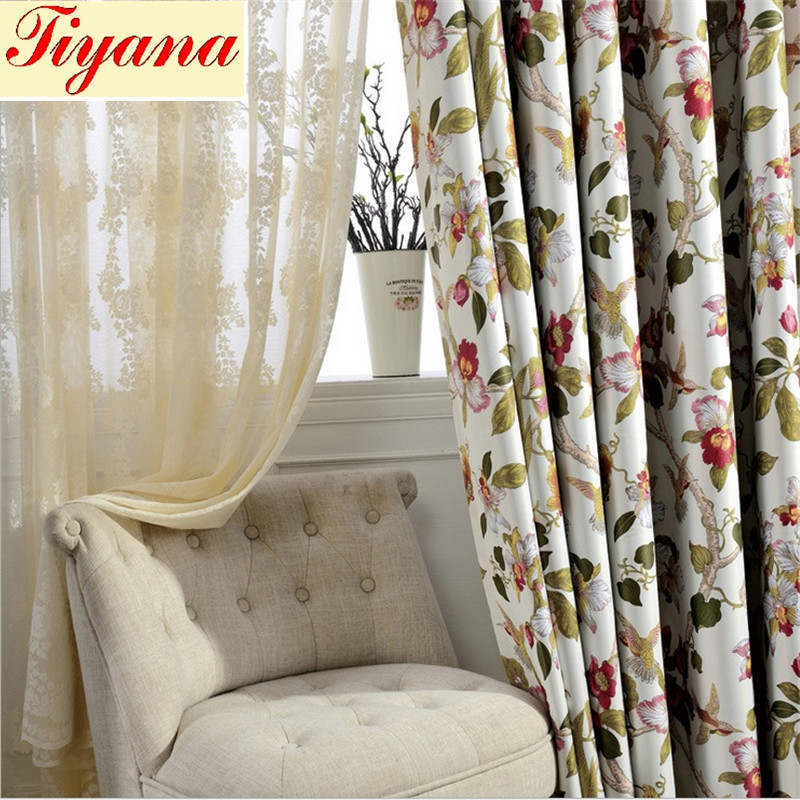 Italien impression panne de style moderne sheer rideau - Impression sur tissu maison ...