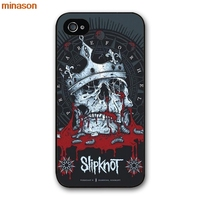 minason American Bands Slipknot Poster Cover case for iphone 4 4s 5 5s 5c 6 6s 7 8 plus samsung galaxy S5 S6 Note 2 3 4 H2603