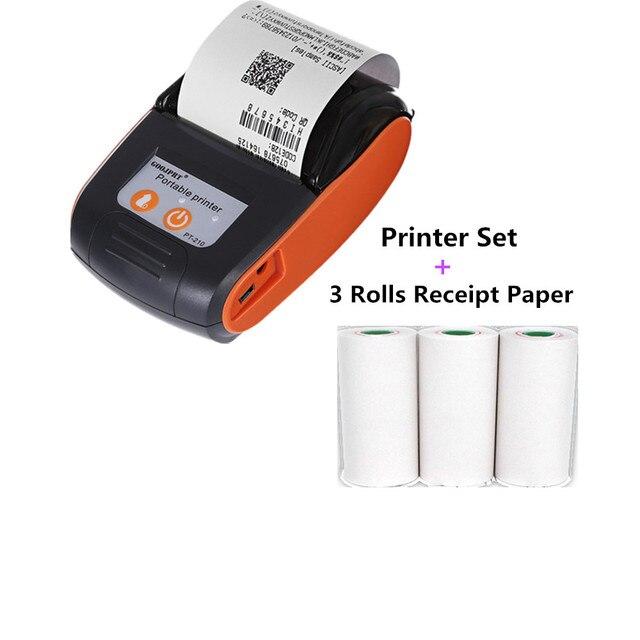 Wireless Mini Bluetooth Thermal Printers Portable Thermal Receipt Printer 58mm Mobile Phone Android POS PC Pocket Bill Impresora 4