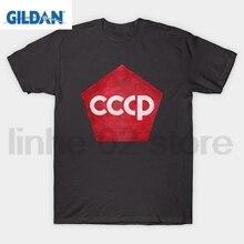 GILDAN CCCP Red Pentagon Insignia T-Shirt